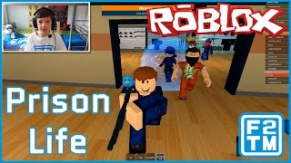 Prison Life ( I GOT ARRESTED FOR FARTING IN SOMEONE'S MILK!!! - Roblox