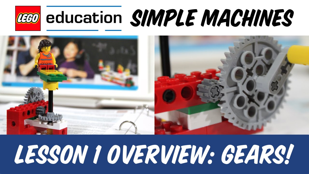 Lego Education Simple Machines Lesson 1 Gears Youtube