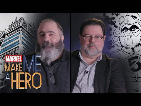 Tom Brevoort & Dan Slott | Marvel Make Me a Hero