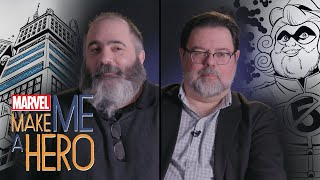 Tom Brevoort & Dan Slott | Marvel Make Me a Hero