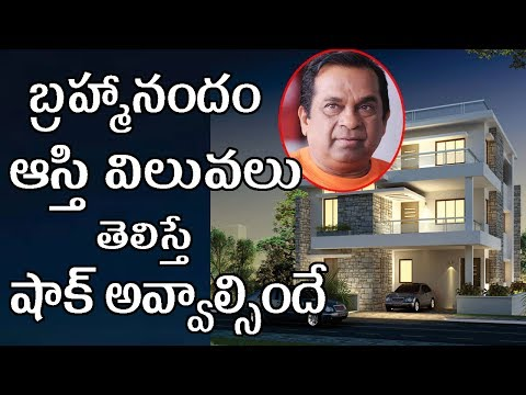 Tollywood Top Comedian Brahmanandam Shocking Assets And Properties Value Revealed|Filmy Poster