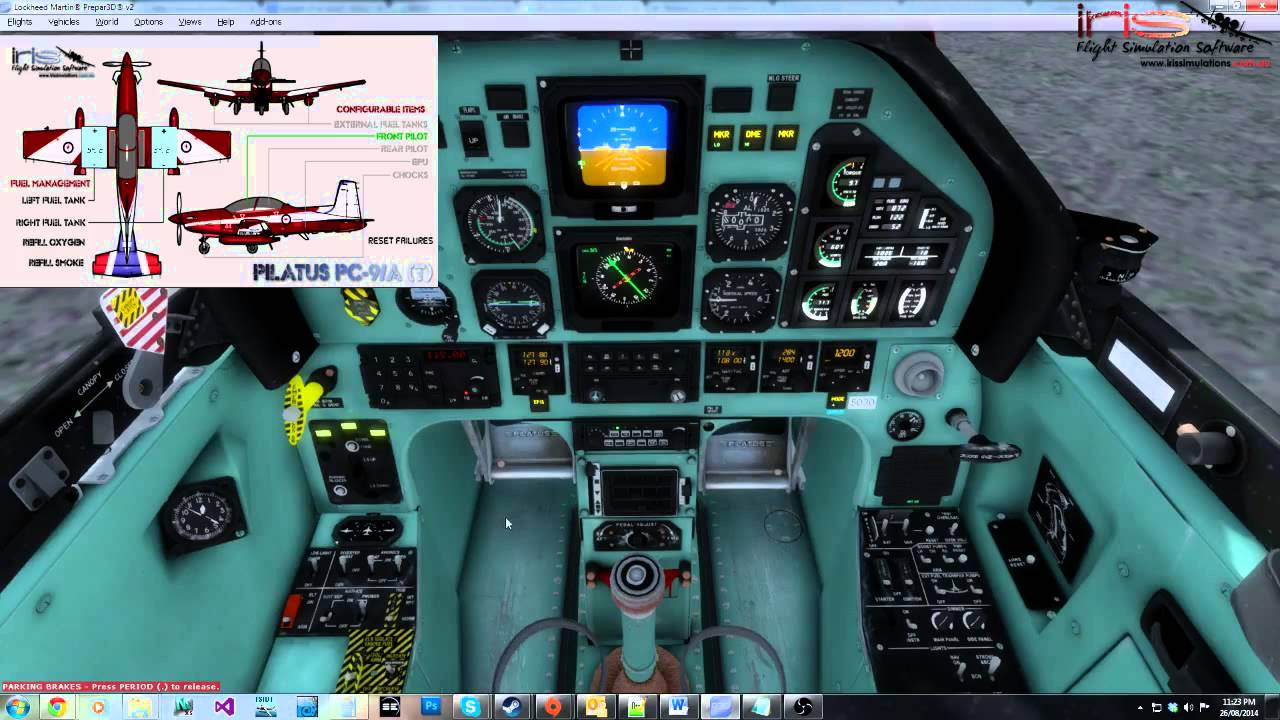 IRIS Flight Simulation Software PC-9/A Advanced Dev Blog 2 - Updated  Electronics