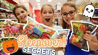 The Secrets of Halloween Sleepovers with Friends for 24 hours