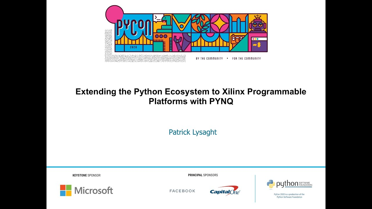 Image from Extending the Python Ecosystem to Xilinx