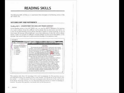 TOEFL Prep New York - Manhattan NYC TOEFL Class - Manhattan Elite Prep - TOEFL Reading