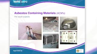 NAPIT EXPO 2014 Training Taster Session 4: Asbestos