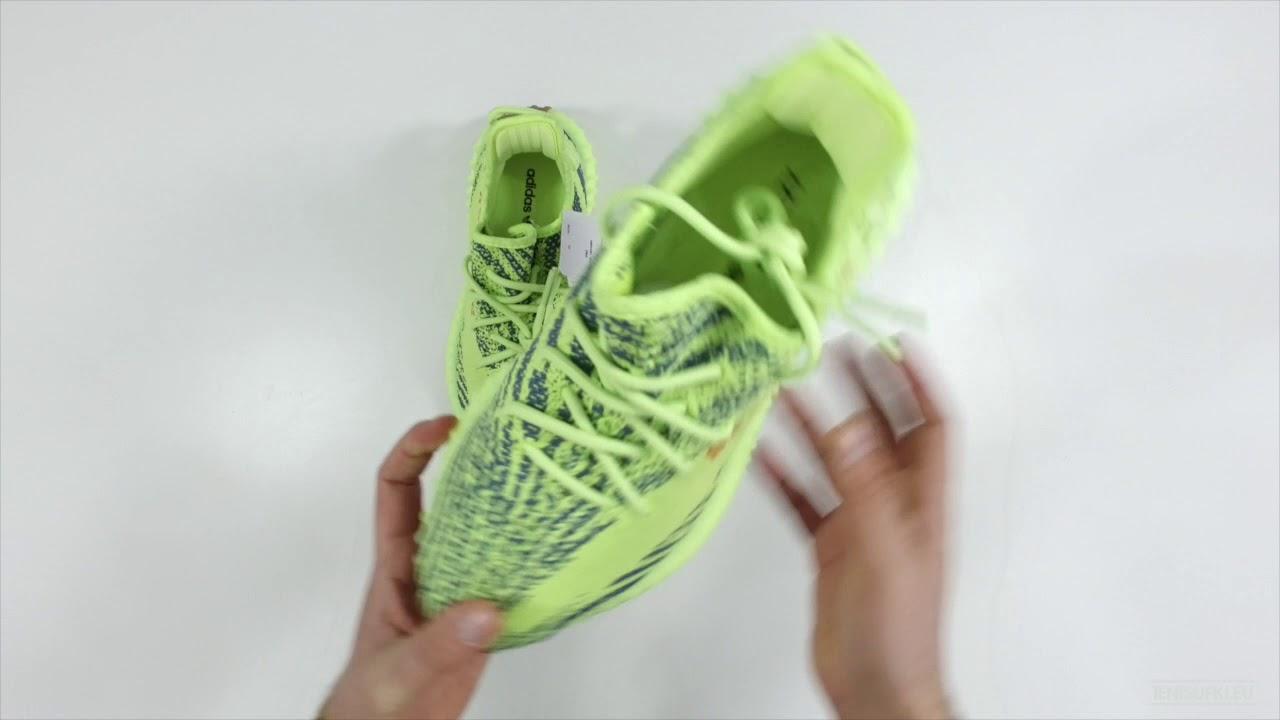 9946dbfad Tenisufki UNBOXING  adidas Yeezy Boost 350 V2  Semi Frozen Yellow ...