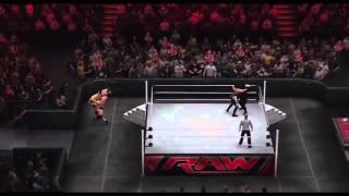 GamePlay-WWE 2K15  The Authority Vs Randy Orton & Sting-Gil Pedro