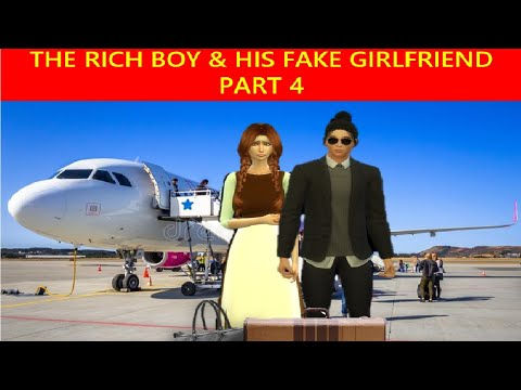 THE RICH BOY AND HIS FAKE GIRLFRIEND Part 4, Kwentong Pambata, Filipino Fairy tales,  Bibiboo TV,