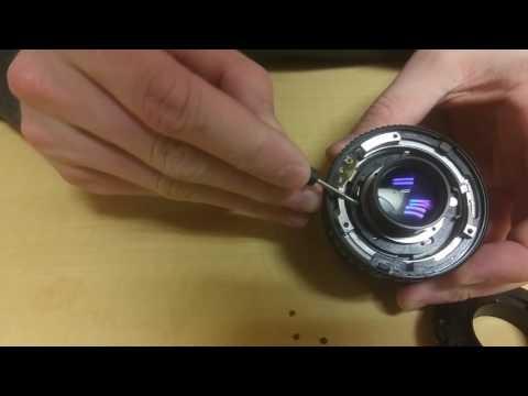 Fixing a declick on Canon FD prime lenses
