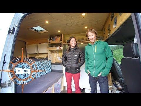 Couple Builds Ultimate DIY Stealth Sprinter Camper Van ~ Tons Of GREAT Ideas