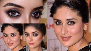 "Black Kajal look ""Kareena Kapoor"" Inspired Makup with Miss Rose Products"
