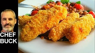 Best Chicken Tenders Recipe in the oven(Try this very tasty baked chicken tenders recipe. Make oven-baked chicken tenders that you'll enjoy just as much as deep fried tenders, the trick is to add butter ..., 2017-01-13T13:21:37.000Z)