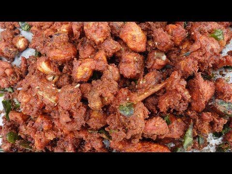 Crispy 25 kg Chilli Chicken Recipe | Restaurant Style | VILLAGE FOOD