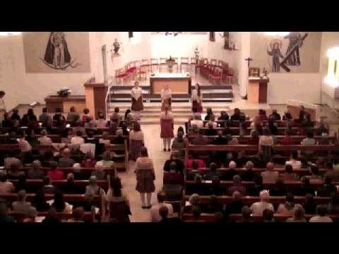 Estonia TV Girls Choir/Estland: Mu süda, ärka üles (Wach auf mein Herz), EJCF Basel 2012