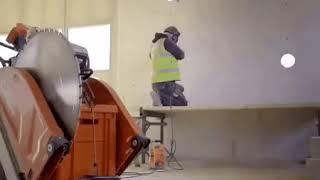 видео Алмазная резка бетона в Москве
