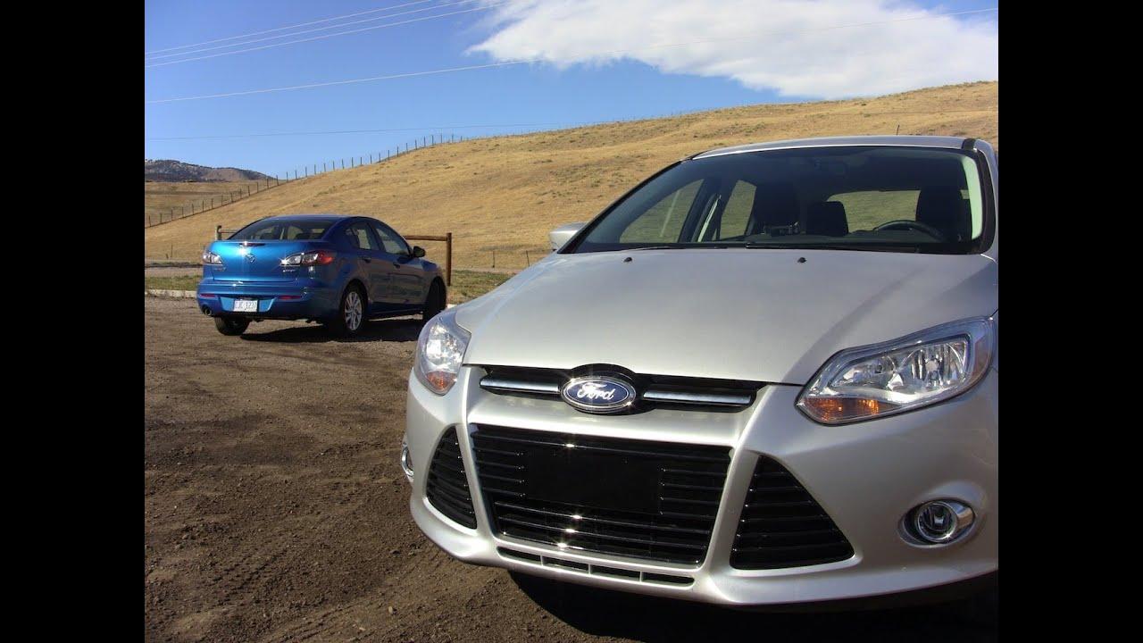 Mazda mazda 3 0-60 : 2012 Ford Focus versus Mazda 3 Mashup Review & 0-60 MPH Test - YouTube