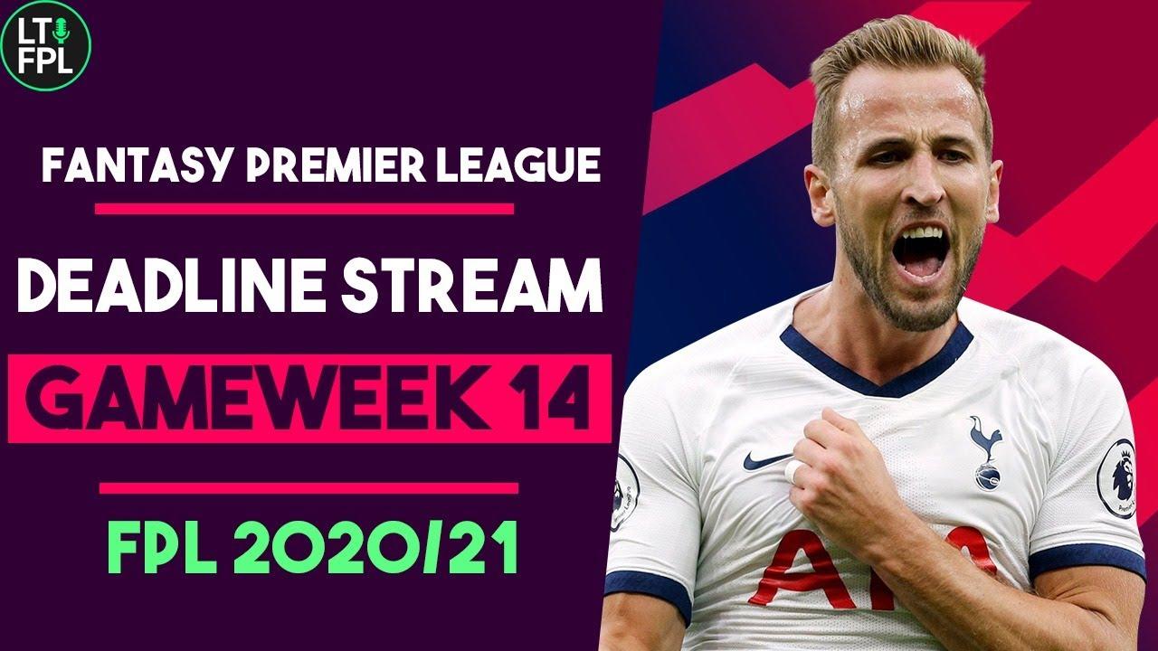 FPL DEADLINE STREAM | Gameweek 14 | Captaincy to decide... | Fantasy Premier League Tips 2020/2121