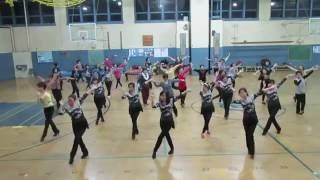 Class Video 风筝误12/16/2015 San Francisco Chinese Line Dance 三藩市鳳凰飛健舞社