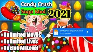 Cara Download Candy Crush Saga (MOD, Moves/Lives/All Level) v1.196.0.1 Apk screenshot 1