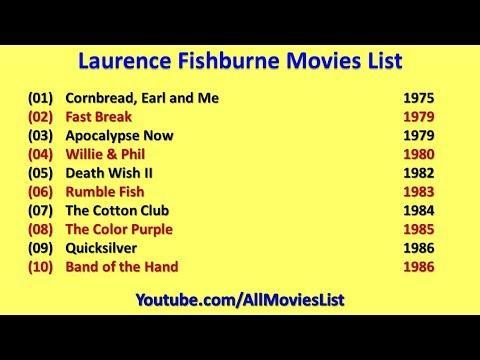Laurence Fishburne Movies List