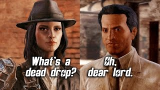 Fallout 4 - What s a Dead Drop - All Companions Comments