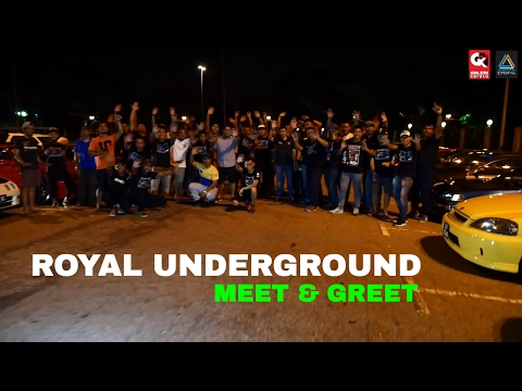 Royal Underground Meet & Greet  @ Jerudong Park Brunei