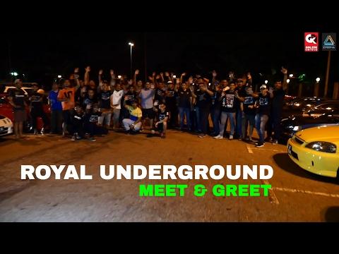 Royal Underground Meet & Greet  @ Jerudong Park Brunei