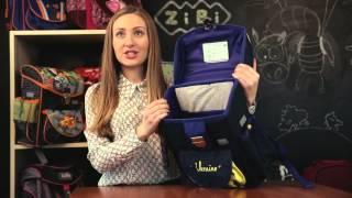 Обзор Школьных рюкзаков ZiBi, модель Satchel