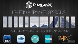 DJ Phalanx - Uplifting Trance Sessions EP. 185 / aired 24th June 2014