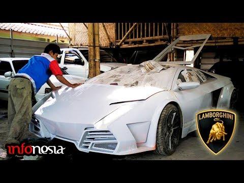 ADA DARI INDONESIA! Inilah 5 Mobil Lamborghini Buatan Tangan Sendiri
