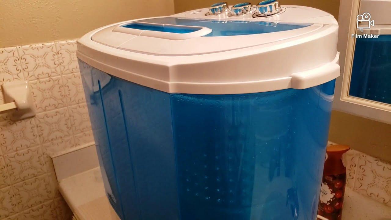 Zeny Portable Twin Tub Washing Machine Review - YouTube