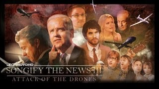 Joe biden and his press secretary, darren criss, sing to the public about shotgun use while politicians pundits broadcast warnings of flying robots s...