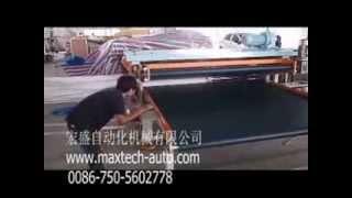 HOT SELL Mattress packing machine: Memory &HR foam mattress roll packing