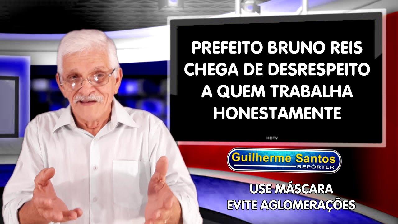 Trabalhador não é bandido prefeito Bruno Reis Covid 19