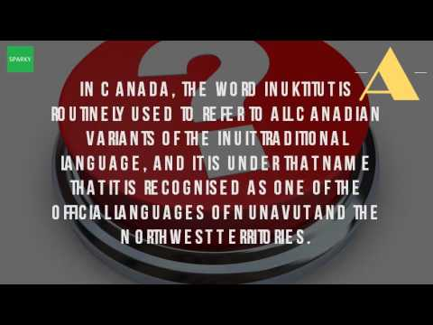 What Is The Language Of The Inuit Called?