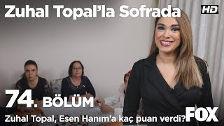 Zuhal Topal, Esen'e kaç puan verdi? Zuhal Topal'la Sofrada 74. Bölüm