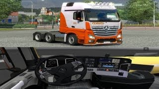 #8 Euro Truck Simulator Mods I Test Mercedes TNT MPIV with tuning and interior Mod + Download