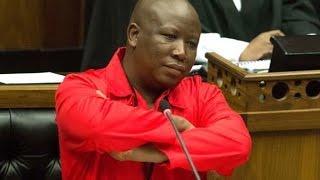 Malema insults Zuma in Zulu ''Uyisigebengu senja