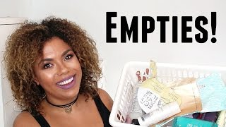 Beauty Empties! Hair, Skin, and Makeup! | samantha jane