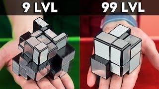 Простая головоломка сложнее сложной | Зеркальный 2х2 кубик Рубика