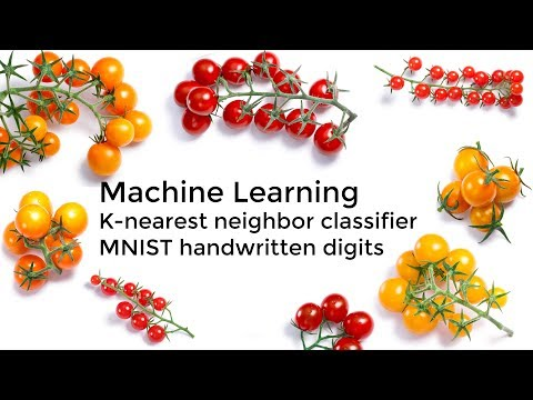 K-Nearest Neighbor Classification MNIST Handwritten Digits