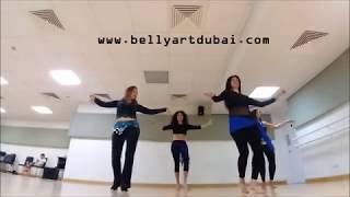 3 Daqat - Abu Ft. Yousra ثلاث دقات - أبو و يسرا (belly dance choreo)