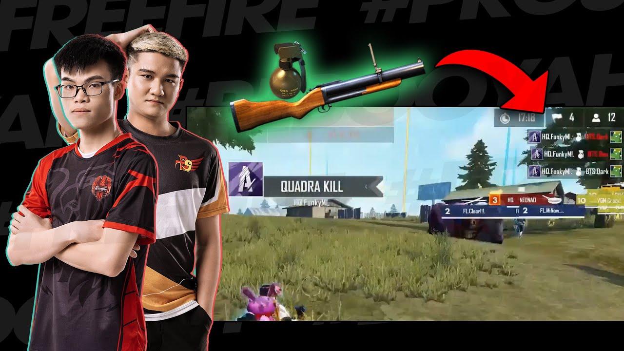 [Highlight Free Fire]  Những quả lựu đạn và M79 làm hết!   BE BOOYAH!   HEAVY