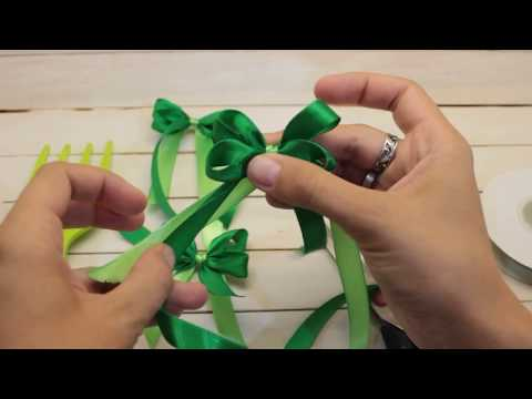 Как завязать красивый бантик с помощью вилки