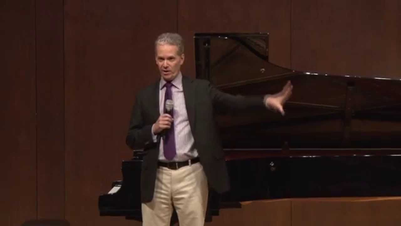 Patricia Racette Master Class, April 23, 2015: Introduction with Brian Zeger