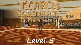 Tomb Raider 2 Golden Mask Walkthrough - Level 5: Nightmare in Vegas (Bonus)