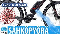 Sähköavusteinen polkupyörä Helkama SE10 ⚡⚡