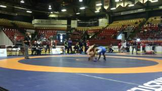 2016 CDN JR NAT FS55kg FINAL  Darthe Capellan (BMWC) vs Ligrit Sadiku (Western) End R1