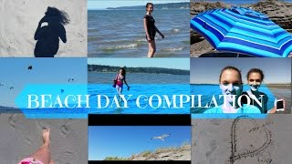 Beach Day Compilation & Extra- Seagulls Attack each other for Fritos? Thumbnail